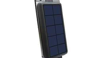 Solar PowerBack 3000 Lightning og MicroUSB