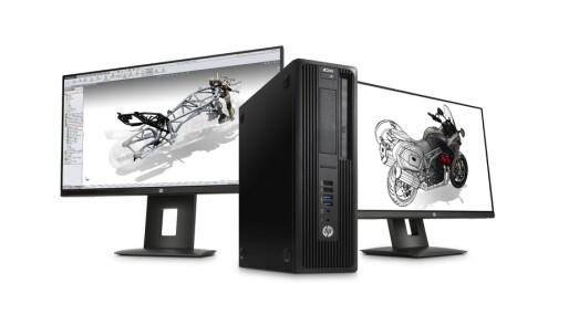 HP Z240 med i7-6700K-prosessor