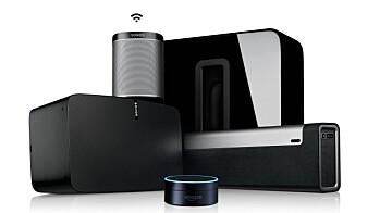 Sonos med Spotify og Alexa