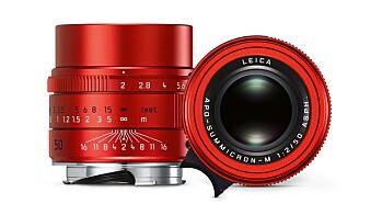 Leica APO-Summicron-M 50mm f2 ASPH rød