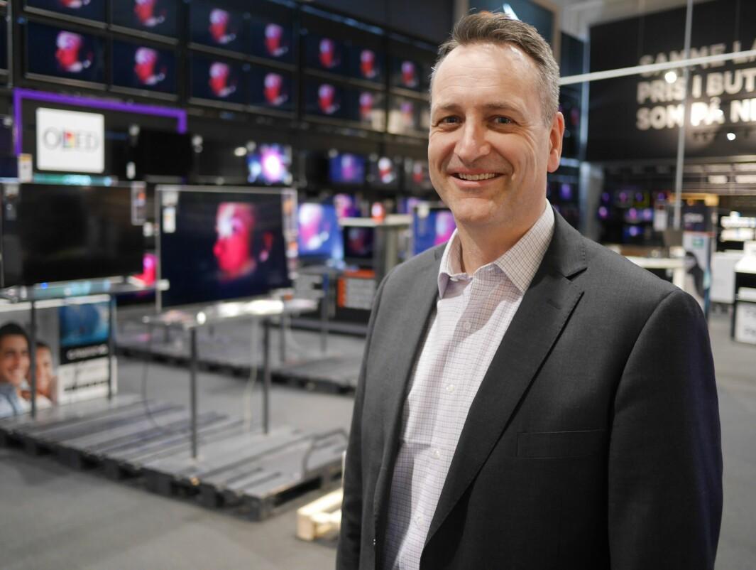 Administrerende direktør i Stiftelsen Elektronikkbransjen Jan Røsholm. Foto: Stian Sønsteng.