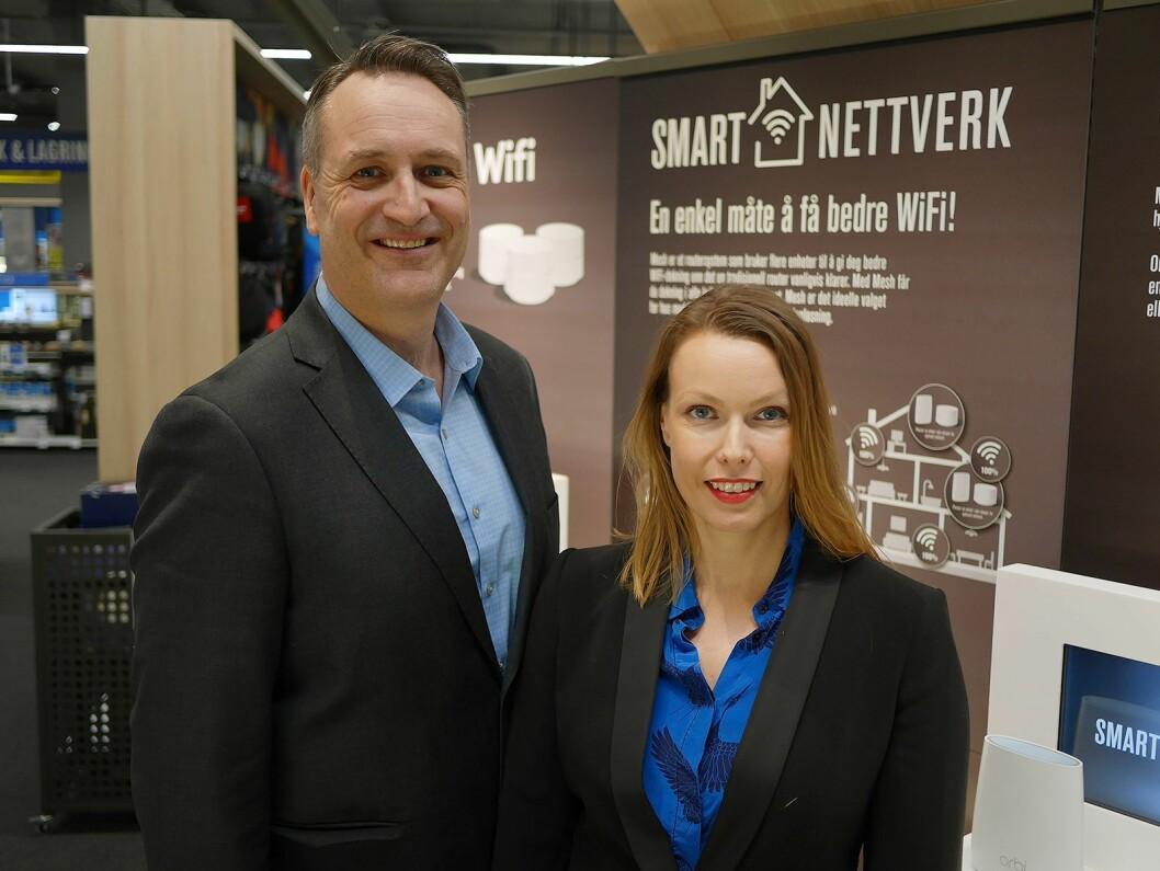Jan Røsholm og Marte Ottemo. Foto: Stian Sønsteng.