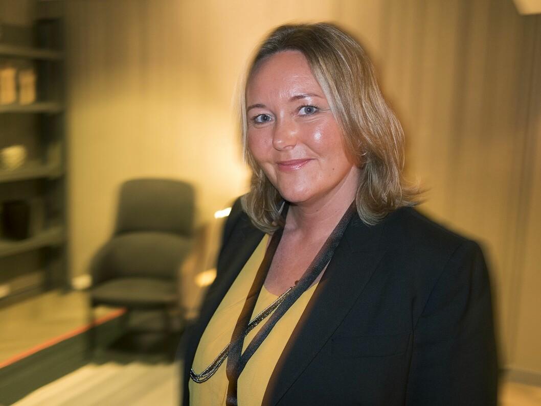 Line Langnes er juridisk seniorrådgiver i Medietilsynet. Foto: Stian Sønsteng.
