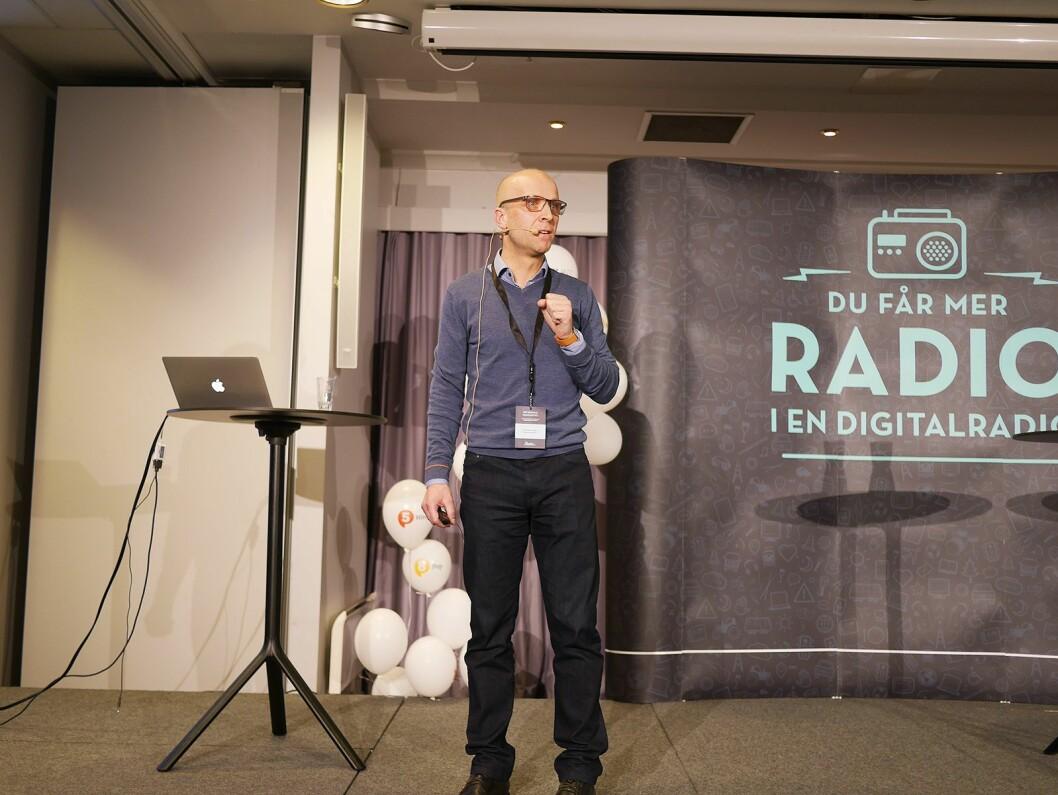 Programdirektør Kristoffer Vangen i Bauer Media Norge AS. Foto: Stian Sønsteng.