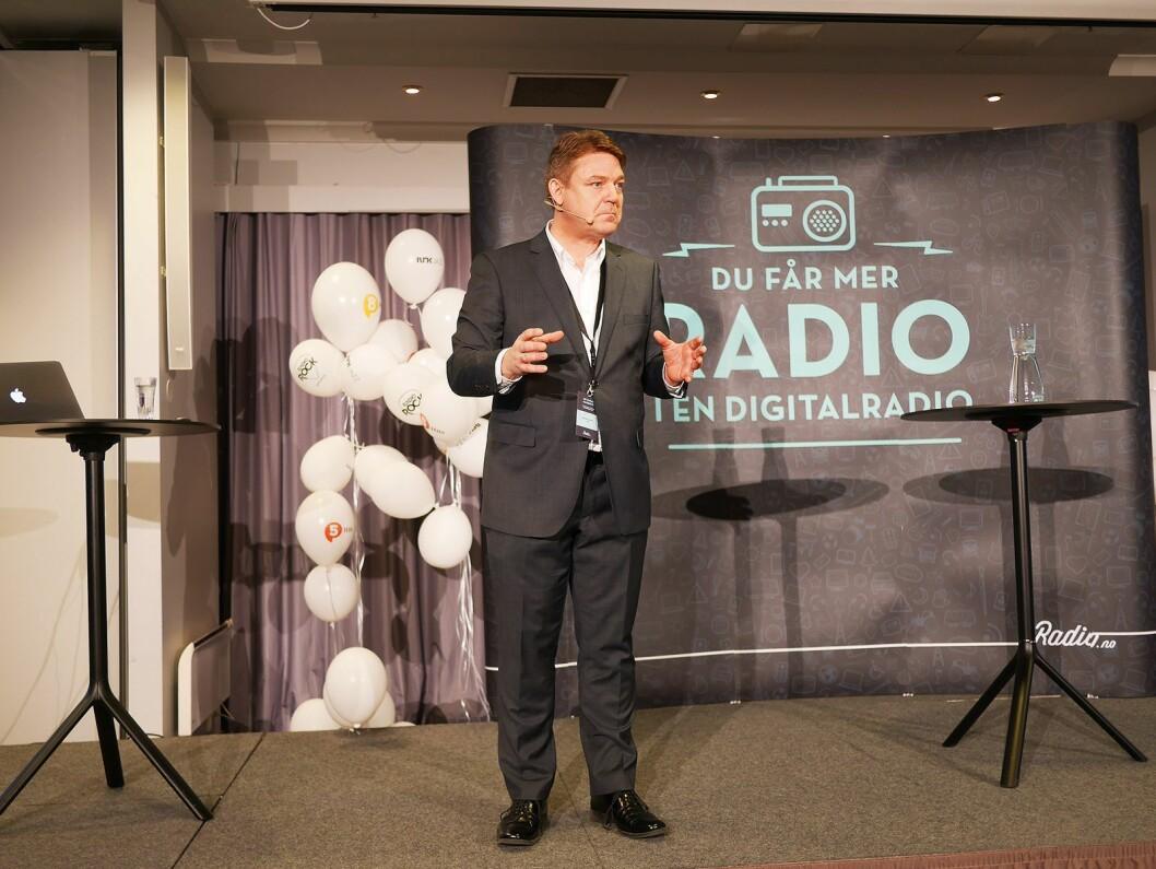Kenneth Andresen er sjef i P4-gruppen. Foto: Stian Sønsteng.
