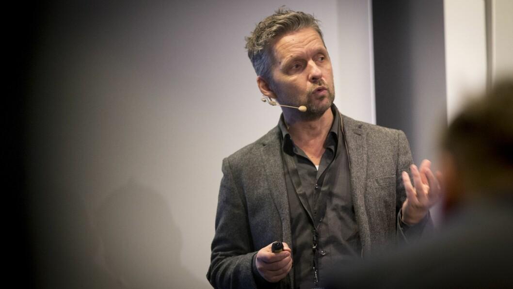 Radiosjef Marius Lillelien i NRK. Foto: Foto: Vilde Erikstad/Digitalradio Norge.