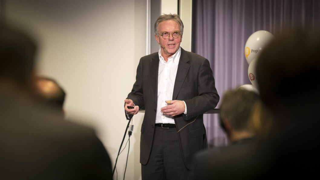 NRKs sjef for radiodistribusjon, Petter Hox. Foto: Vilde Erikstad/Digitalradio Norge.