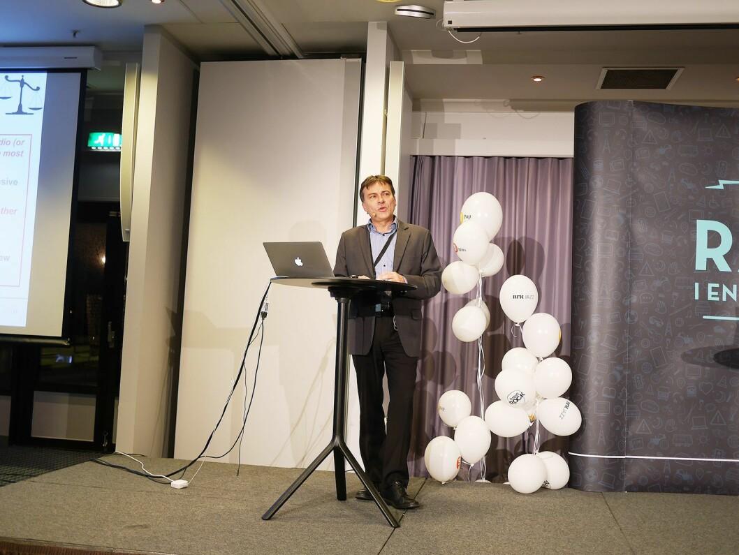 Knut-Arne Futsæter er forskningsleder for medier i analyseselskapet Kantar TNS (tidligere TNS Gallup). Foto: Stian Sønsteng.