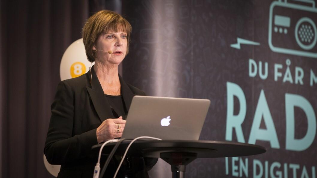 Joan Warner er administrerende direktør i Commercial Radio Australia. Foto: Vilde Erikstad/Digitalradio Norge.