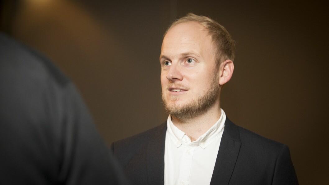 Gustav Lutzhøft er radiosjef ved Danmarks Radio (DR). Foto: Vilde Erikstad/Digitalradio Norge.