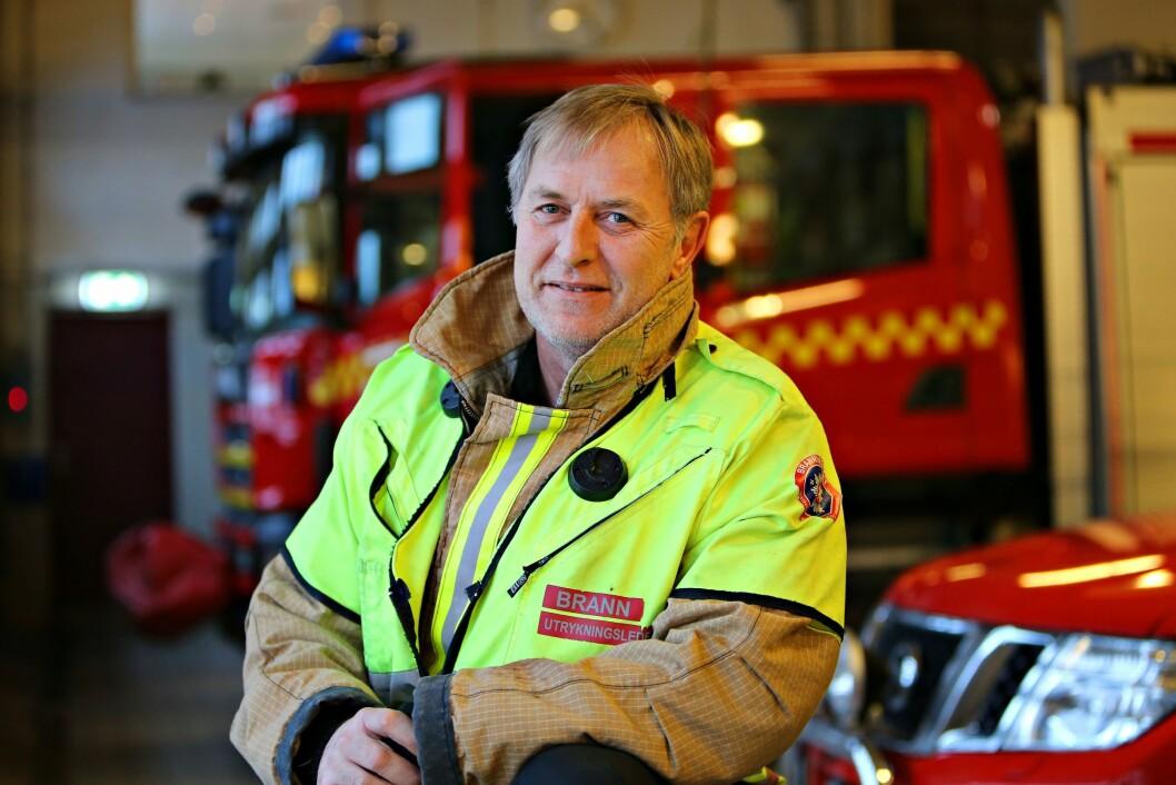 – Vi oppfordrer alle til å sjekke at venner og familie har fått med seg alvoret, sier brannmester Harald Nordnes. Foto: Vestfold Interkommunale Brannvesen.