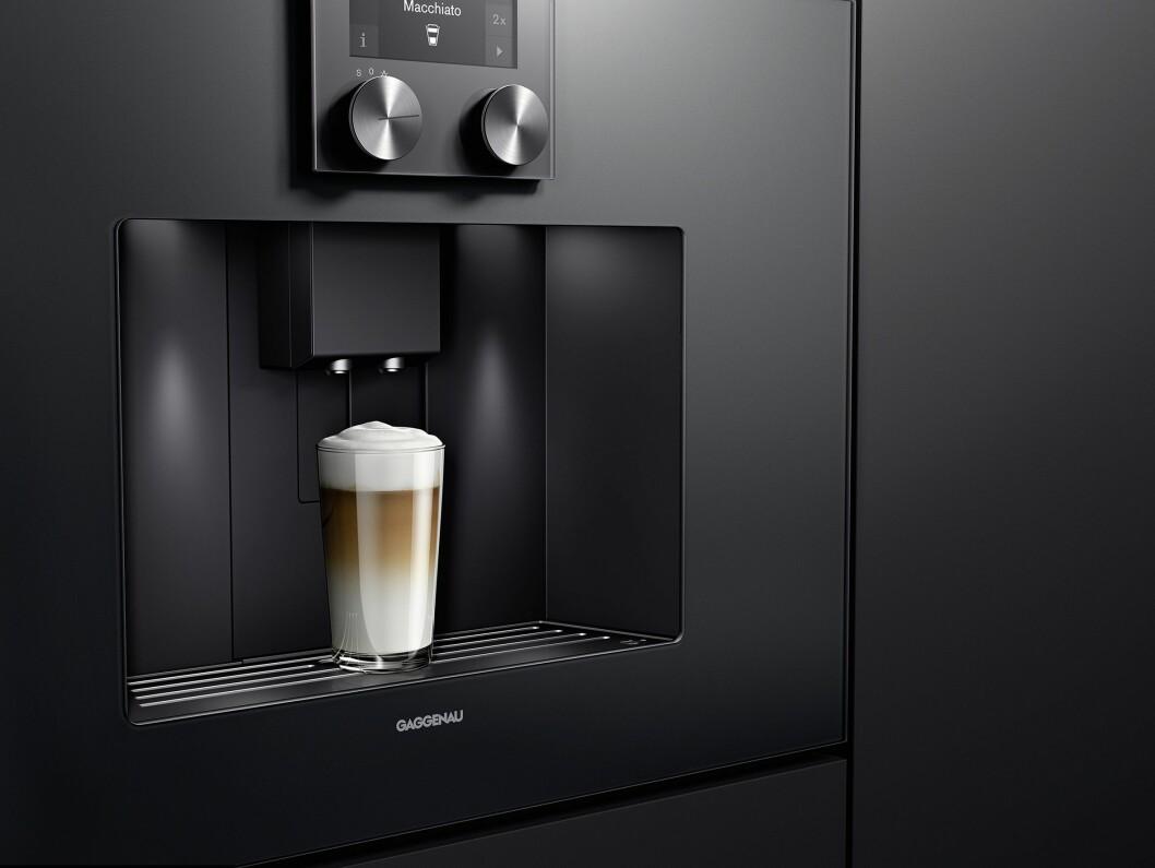 Gaggenau automatiske espressomaskin 200- og 400-serie
