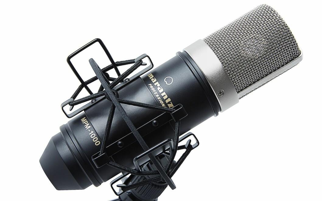 Marantz Professional MPM-1000 er en stormembran kondensatormikrofon. Pris: 524,- eks. mva.
