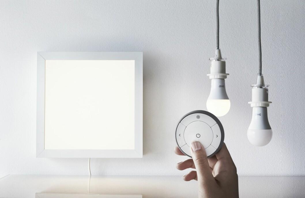 "Med sin ""Trådfri""-serie skal Ikea inn på smart belysning. Foto: Ikea"
