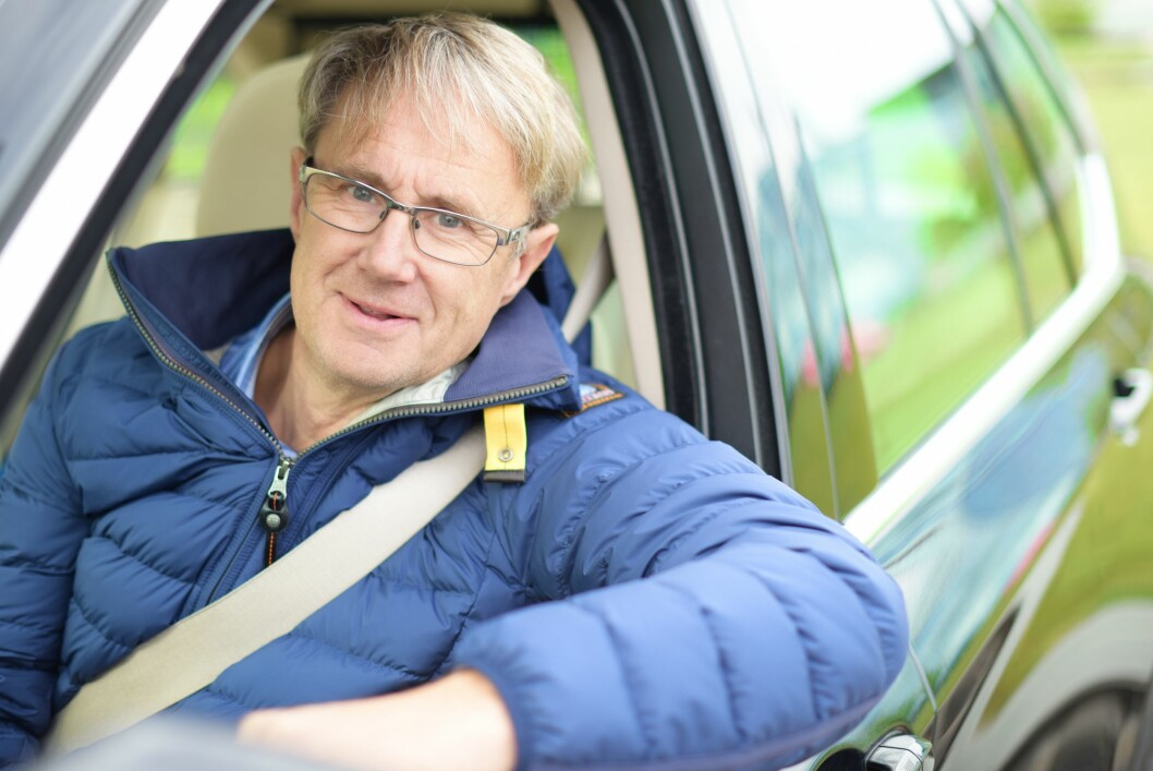 Dekningsdirektør Bjørn Amundsen i Telenor Norge mener Tek.nos test har for lite omfang. Foto: Martin Fjellanger/Telenor