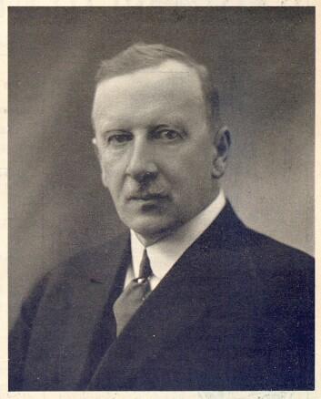 Kaptein W. Meisterlin var den første formann i Norske Radiohandels Landsforening (N. R. L.), som ble stiftet 18. juni 1924. Han satt i vervet til 24. april 1931.