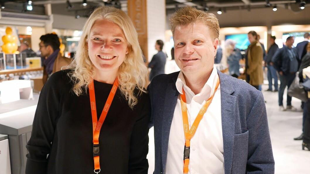 Ekteparet Elin og Roar Sandvik, som sto bak FotoVideo i Oslo, er tilbake med fotobutikk. Foto.no er på 400 kvadratmeter, og ligger i Barcode like ved Oslo S. Foto: Stian Sønsteng