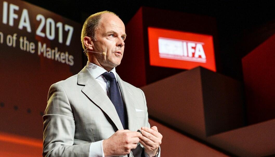 Administrerende direktør Christian Göke i Messe Berlin. Foto: IFA