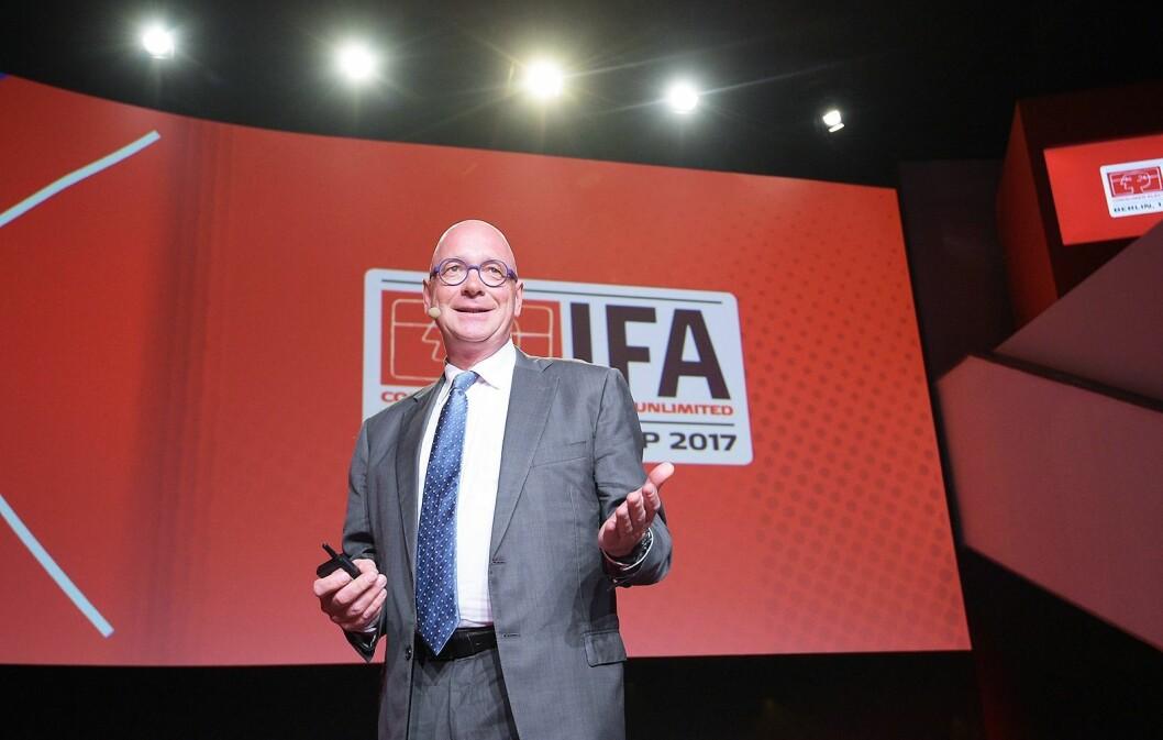 Jürgen Boyny er global direktør for forbrukerelektronikk i analyseselskapet GfK. Foto: IFA