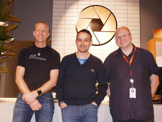 David A. Bruun-Lie, Fabian Falch-Larsen og Erik Faarlund understreker at den redaksjonelle delen og nettsamfunnet på foto.no skal fortsette som tidligere.