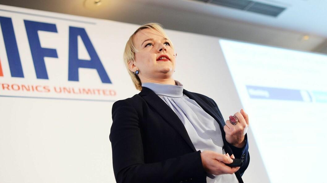 Natalia Andrievskaya er global direktør for hvitevarer i analyseselskapet GfK. Foto: IFA