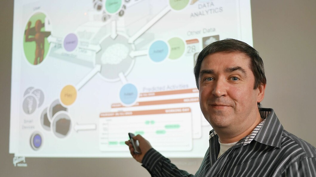 Stefan Hendricx er systemarkitekt og kompetansesjef ved Gibson Innovations forsknings- og utviklingsavdeling (iLab) i Belgia.