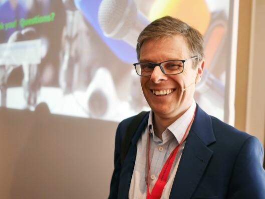 Paul Gray er sjefsanalyst og –forsker ved analyseselskapet IHS Technology. Foto: Stian Sønsteng.