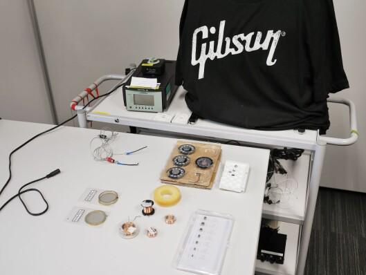 Noen av elementene Gibson Innovations bruker i sine hodetelefoner.