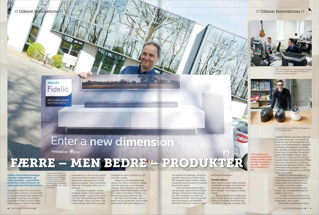 Les artikkelen i digitalutgaven av fagbladet Elektronikkbransjen nr. 3/2017.