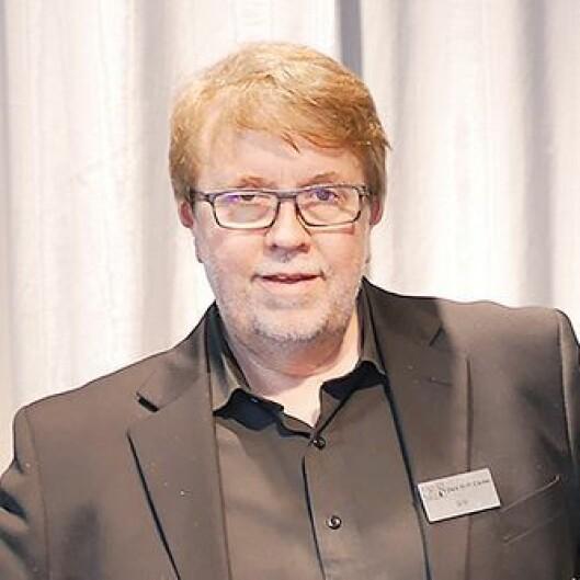 Innehaver Geir Tømmervik i Oslo Hi-Fi Center.