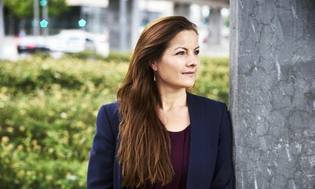 Louise Koch som er bærekraftsansvarlig i Dell. Foto: Dell
