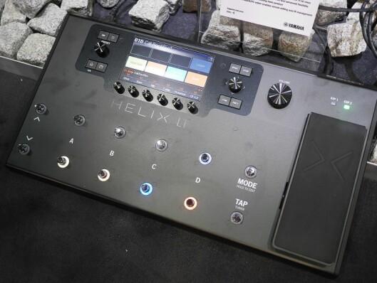 Effektprosessoren Helix LT fra Line 6. Pris: 10.000,-.