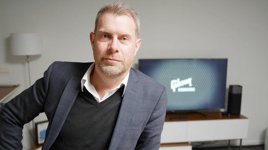 Christer Byfors er ny sjef for det nordiske forbrukermarkedet i Canon. Her er han fotografert ved Gibson Innovations forsknings- og utviklingsavdeling i Belgia i slutten av mars. Foto: Stian Sønsteng
