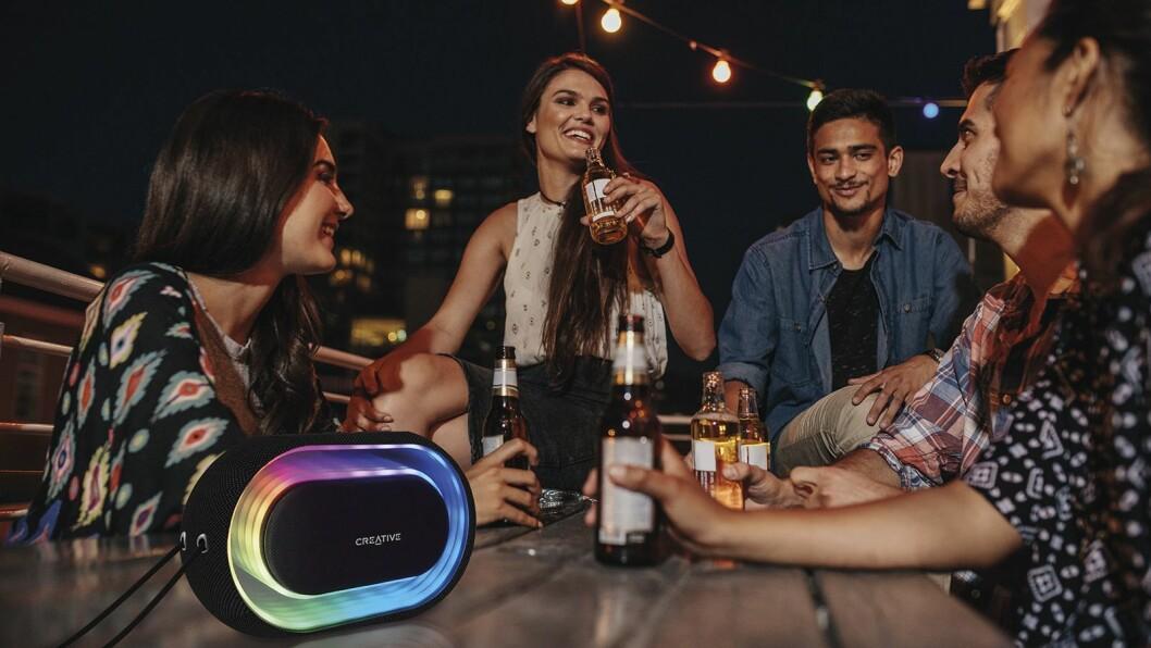 Creative Halo Portable Bluetooth Light Show Speaker