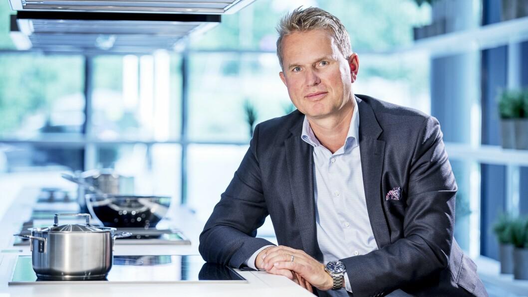 Anders Kjekstad blir ny sjef for Miele Norge. Foto: Miele