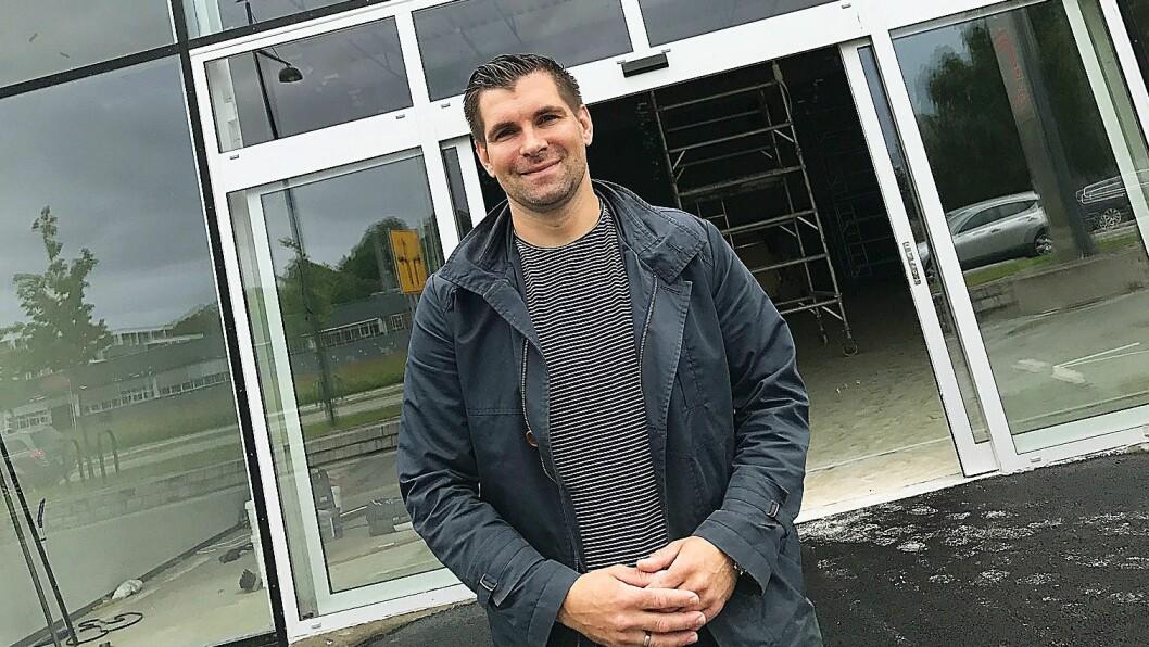 Jan Arild Grønskag er franchisetaker i Skousen Lade.. Foto: Skousen