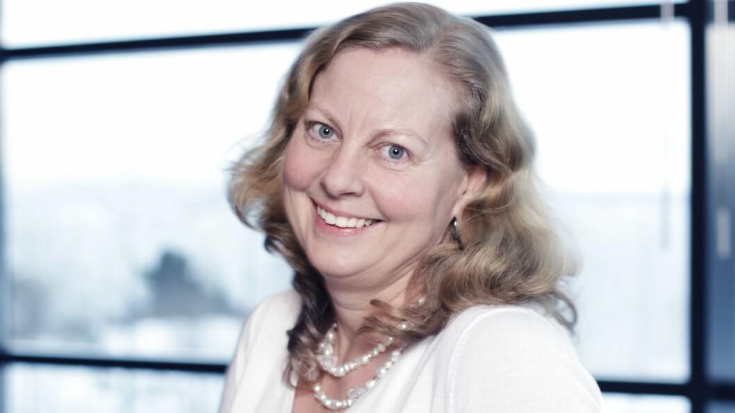 Telenor Norge-sjef Berit Svendsen sier de nye reglene vil gjøre det mellom 15 og 20 prosent billigere å bygge nett i Norge. Foto: Marte Ottemo