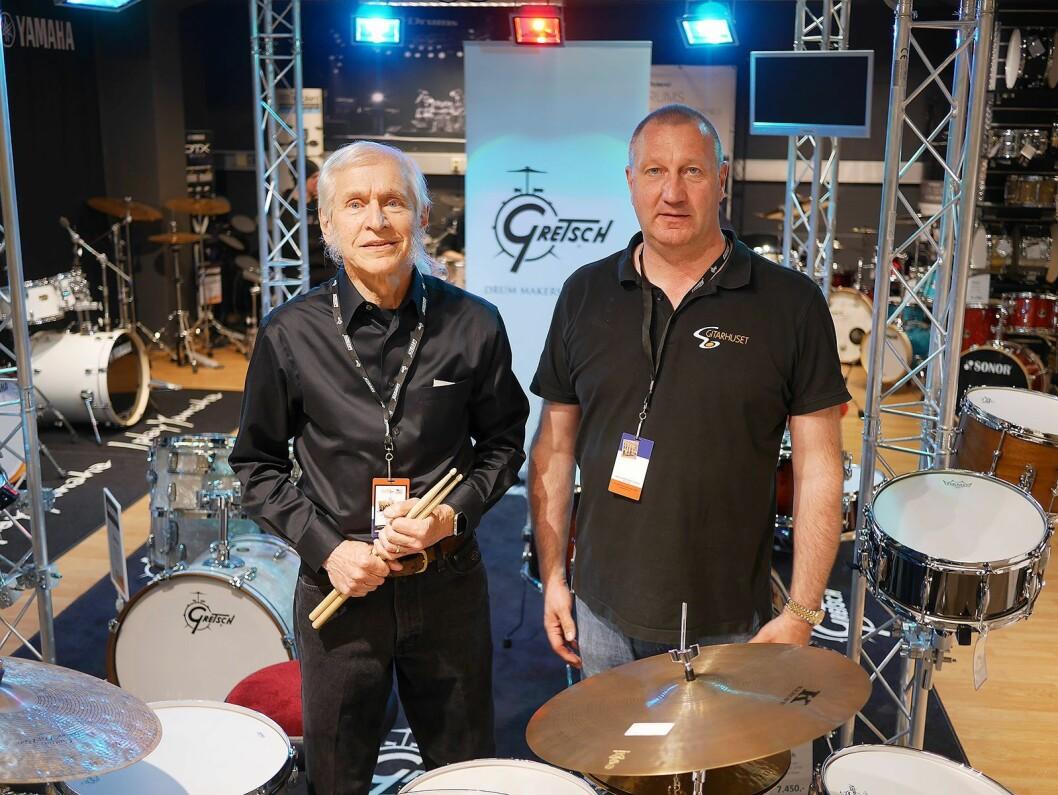 Fred W. Gretsch gjestet 8. juni Magne A. Iversen ved Gitarhuset Megastore på Alnabru..