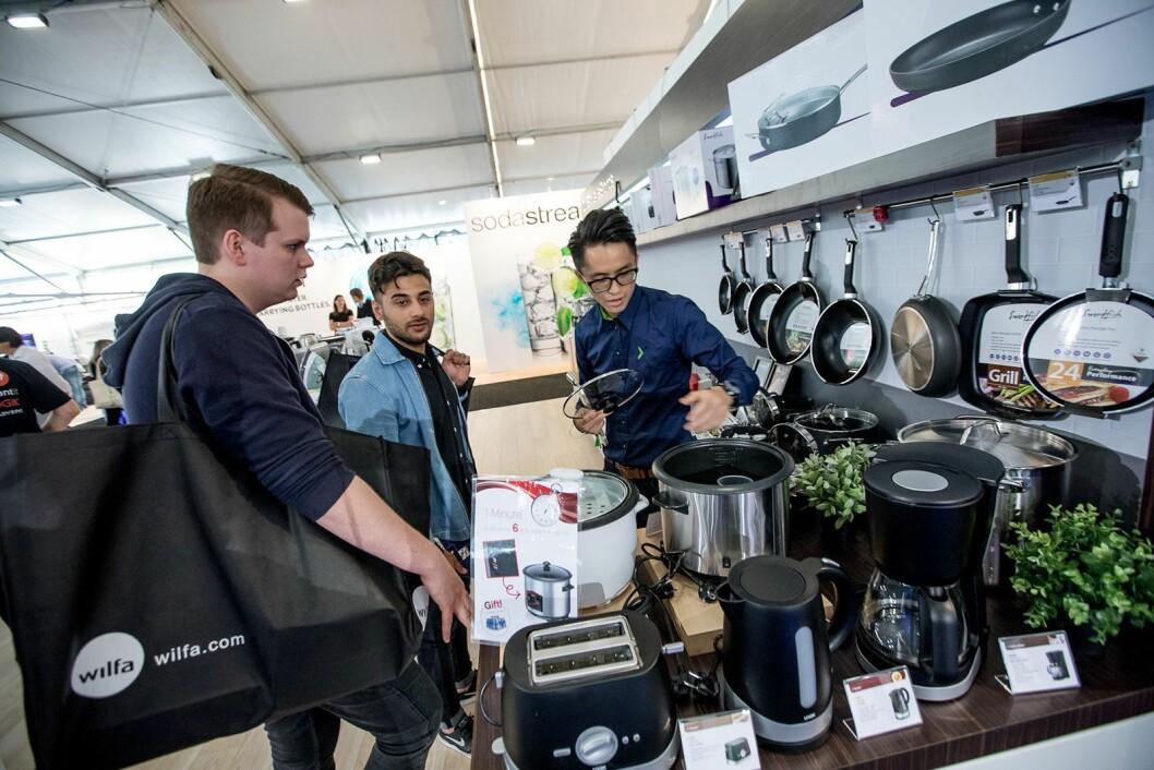 Selskapet DSG Retail Ltd. håndterer konsernets egne varemerker. Foto: Elkjøp/Joakim Mangen