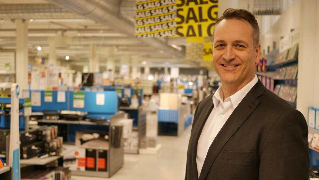 Administrerende direktør Jan Røsholm i Stiftelsen Elektronikkbransjen. Foto: Stian Sønsteng