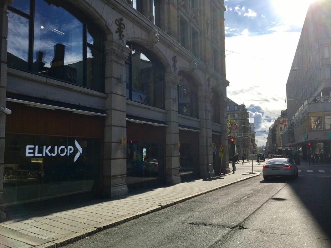 Elkjøp Glasmagasinet åpner i Oslo sentrum torsdag 14. september. Foto: Stig Furu/Elkjøp Nordic