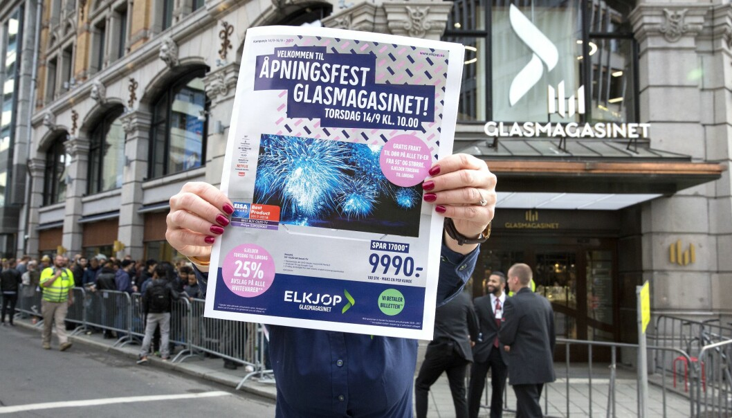 Elkjøp Glasmagasinet i Oslo åpnet torsdag 14. september 2017. Foto: Elkjøp Nordic