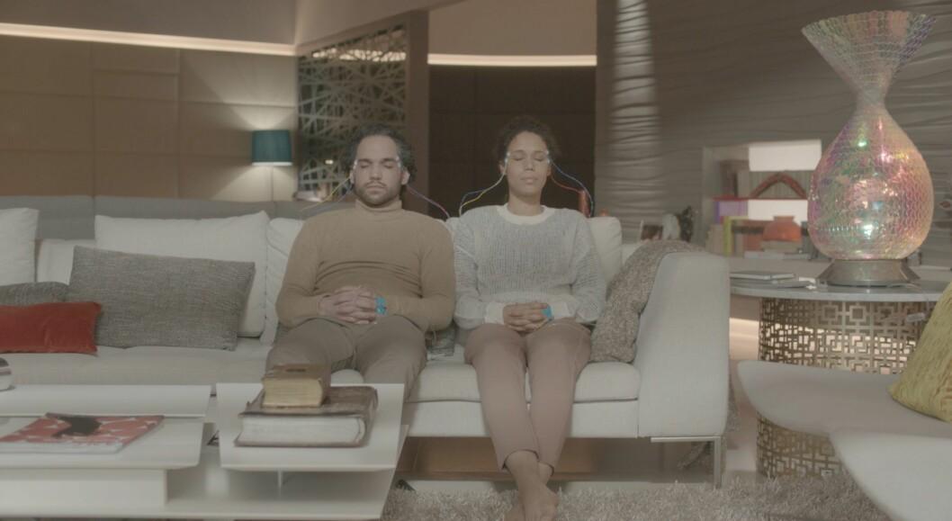 Oscar og Eva er koplet til «metaverse». Foto: National Geographic