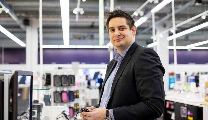 Administrerende direktør Fredrik Tønnesen i Elkjøp Norge. Foto: Elkjøp