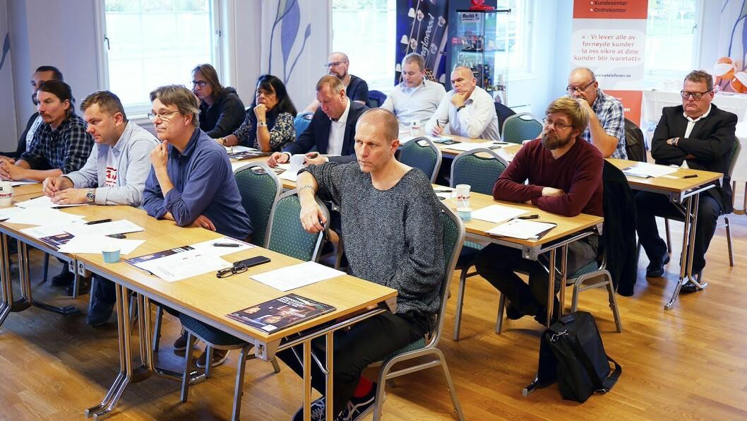 Fra Musikkbransjehelgen på Olavsgaard hotell i Skedsmo den 23. og 24. september. Foto: Stian Sønsteng