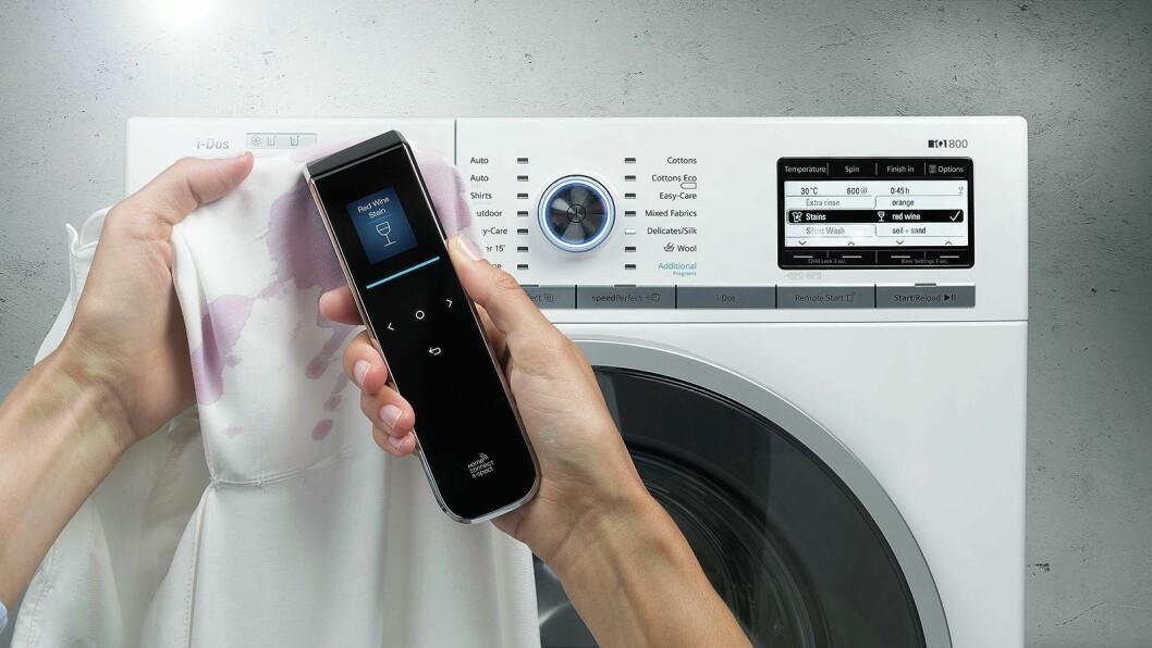 Futuristiske X-Spect skal i framtiden fortelle deg hva slags flekker du har på tøyet, og næringsinnholdet i maten din. Foto: Siemens.