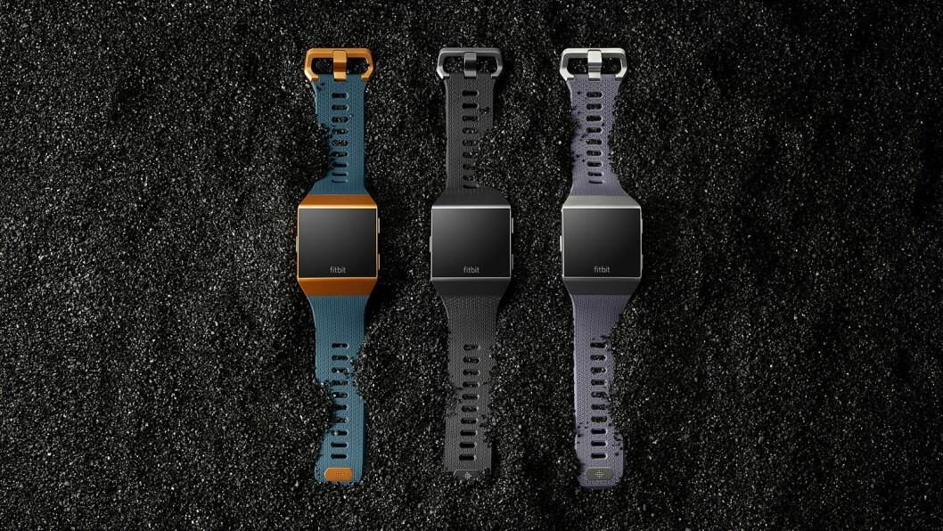 Fitbit lanserer sin første smartklokke, Ionic på IFA. Foto: Fitbit