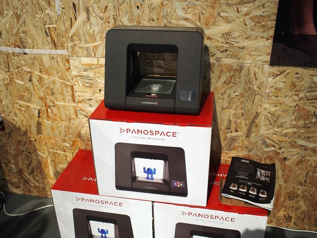 3D skriveren fra Panospace vil koste rundt 6.000 kroner.