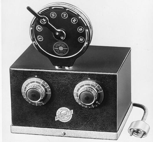 Radionette R3. Bildet er fra Fredrik C. Hildischs historiske arkiv.
