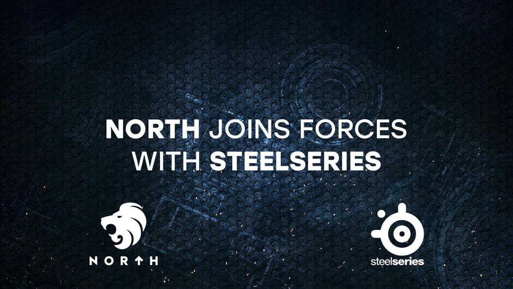 Det danske e-sportlaget North har halt i land en stor sponsoravtale med SteelSeries. Foto: SteelSeries